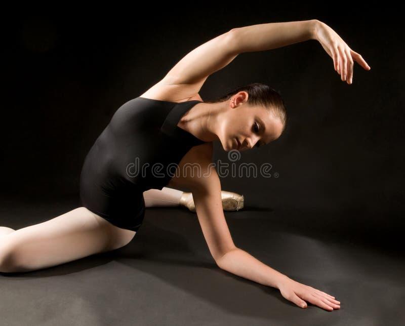 balettdansörbarn royaltyfri foto