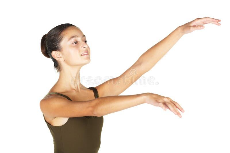 balettdansörbarn royaltyfri bild