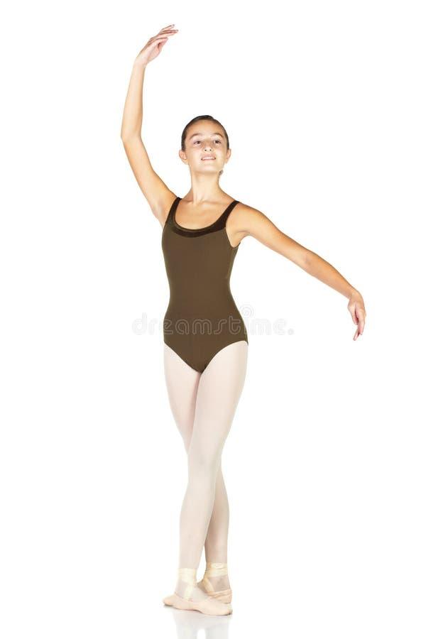 balettdansörbarn arkivfoto