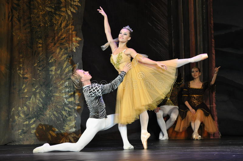 Balettdansörer royaltyfri fotografi