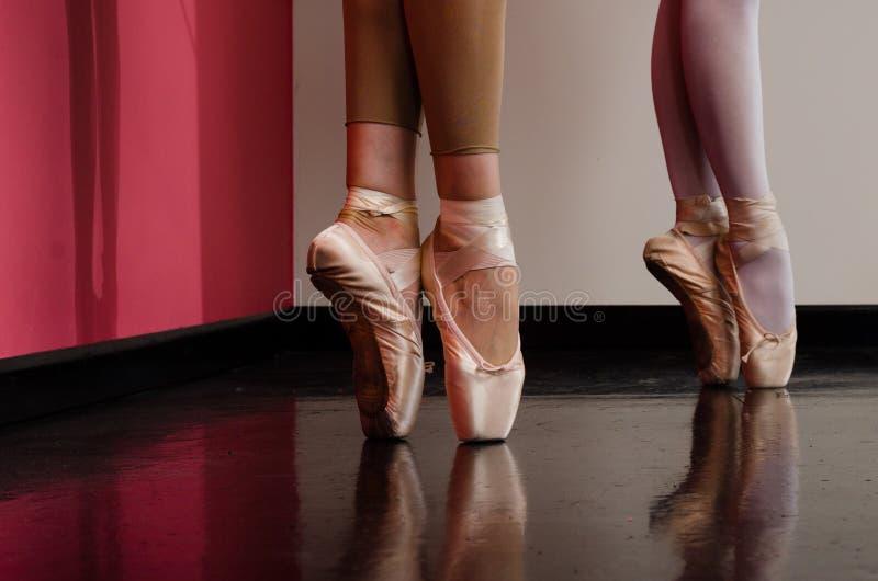 Balettdansörfot arkivbilder
