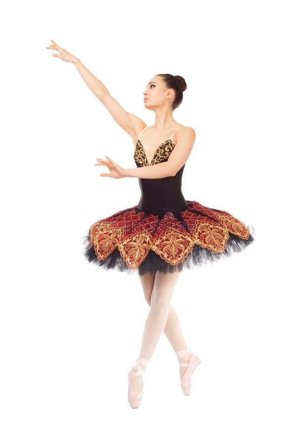 balettdansörkvinnlig royaltyfri fotografi