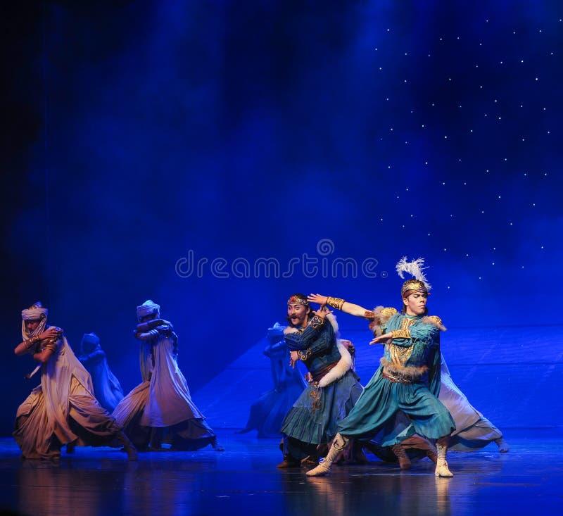 Baletten för prins Su-Hui arkivbilder