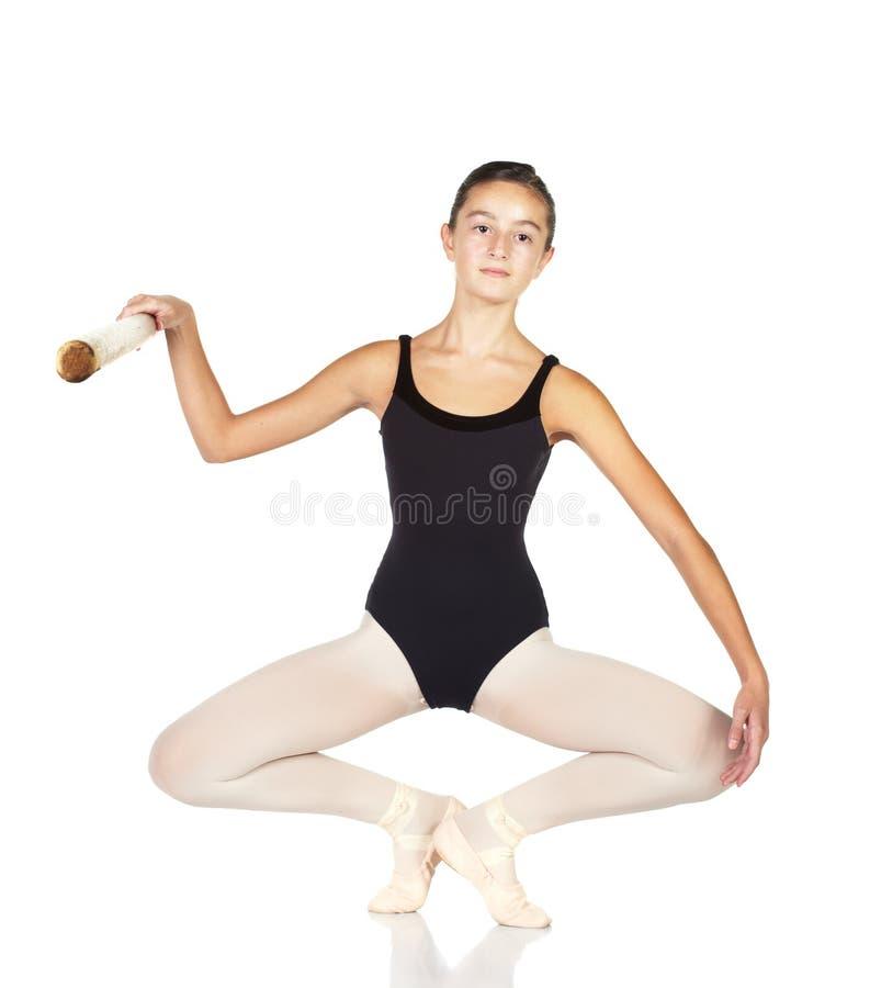 balettmoment royaltyfria bilder