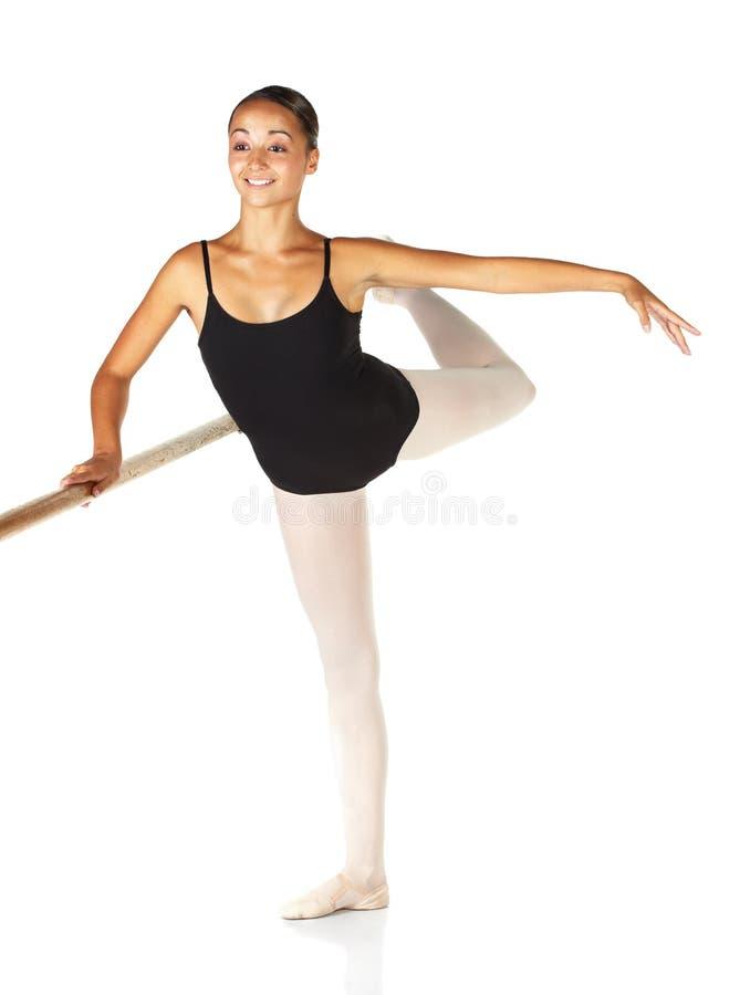 balettmoment arkivfoto