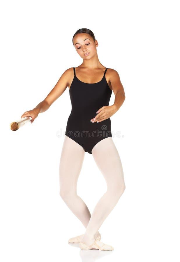 balettmoment arkivbild