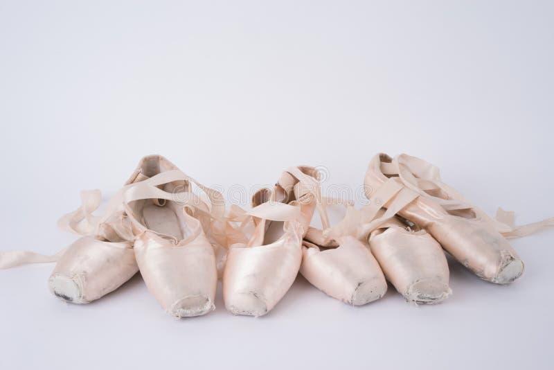 Balettskor royaltyfria bilder