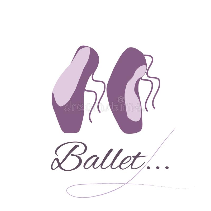 Balettstudio vektor illustrationer