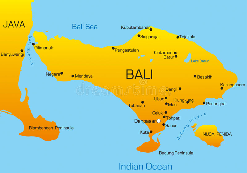 Bali ilustracja wektor