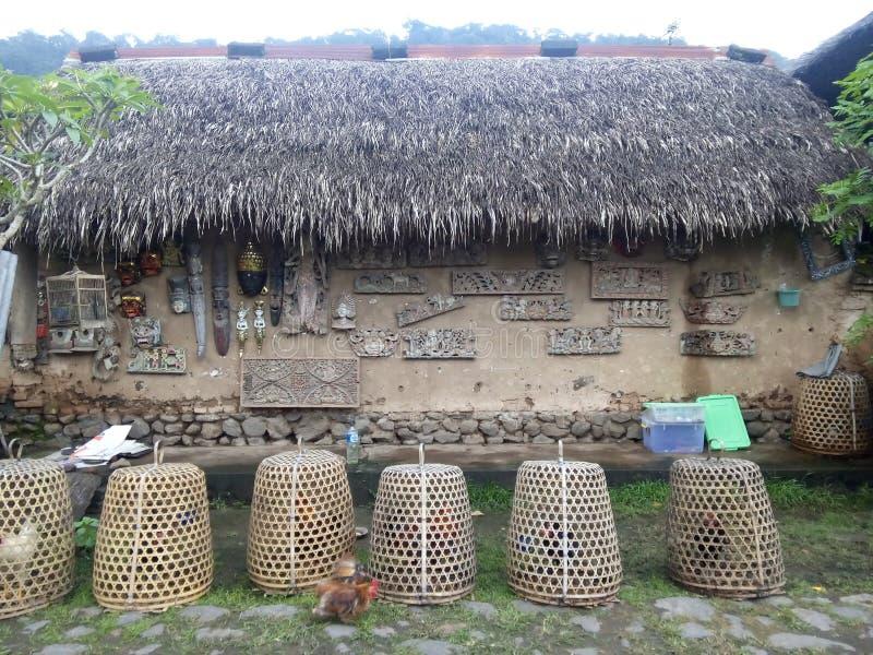 Bali-aga Dorf lizenzfreies stockfoto