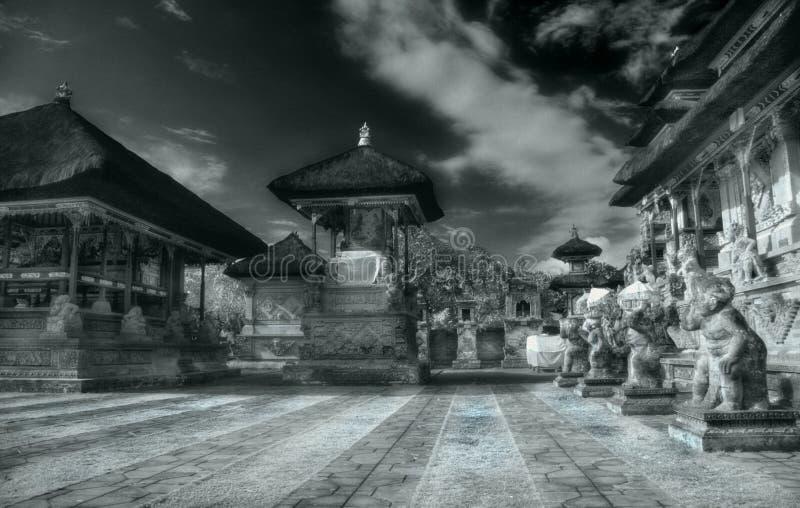 Bali architektury słonecznego obrazy royalty free