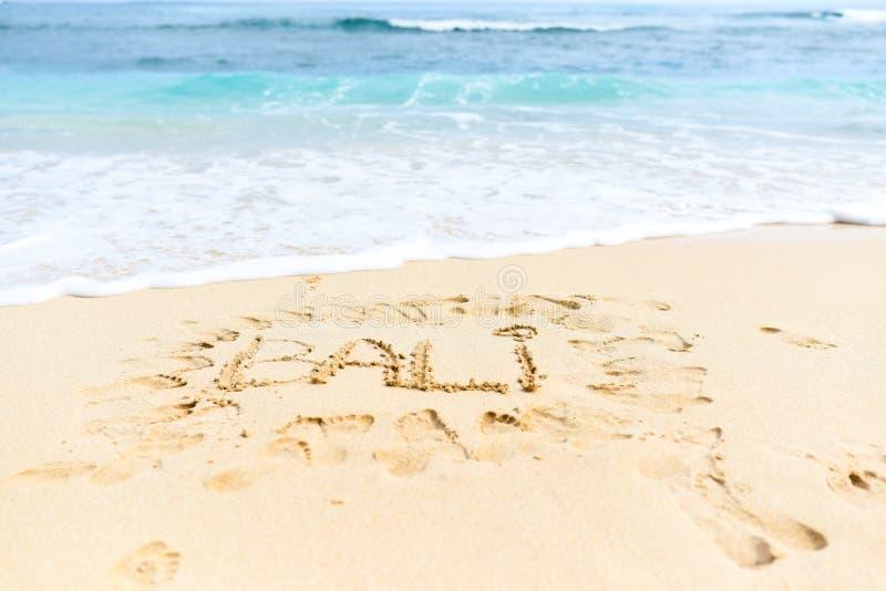 Download Bali auf dem Sand stockfoto. Bild von treppen, tropisch - 106802786