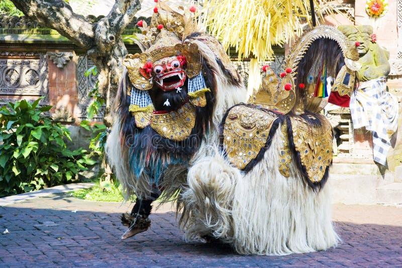 bali barong taniec Indonesia obraz stock