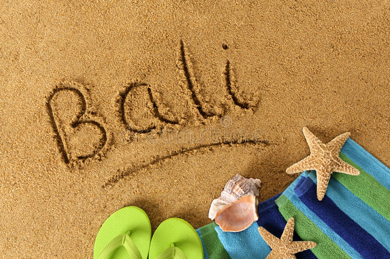 Bali beach royalty free stock images