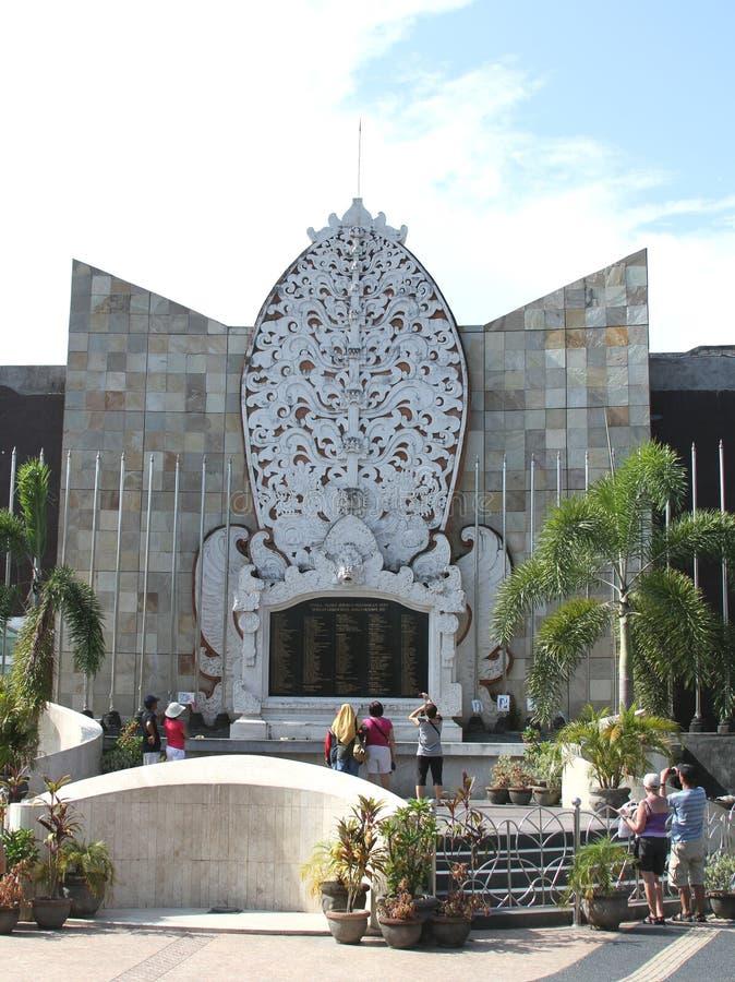 Bali bombardant le mémorial, Bali Indonésie photographie stock