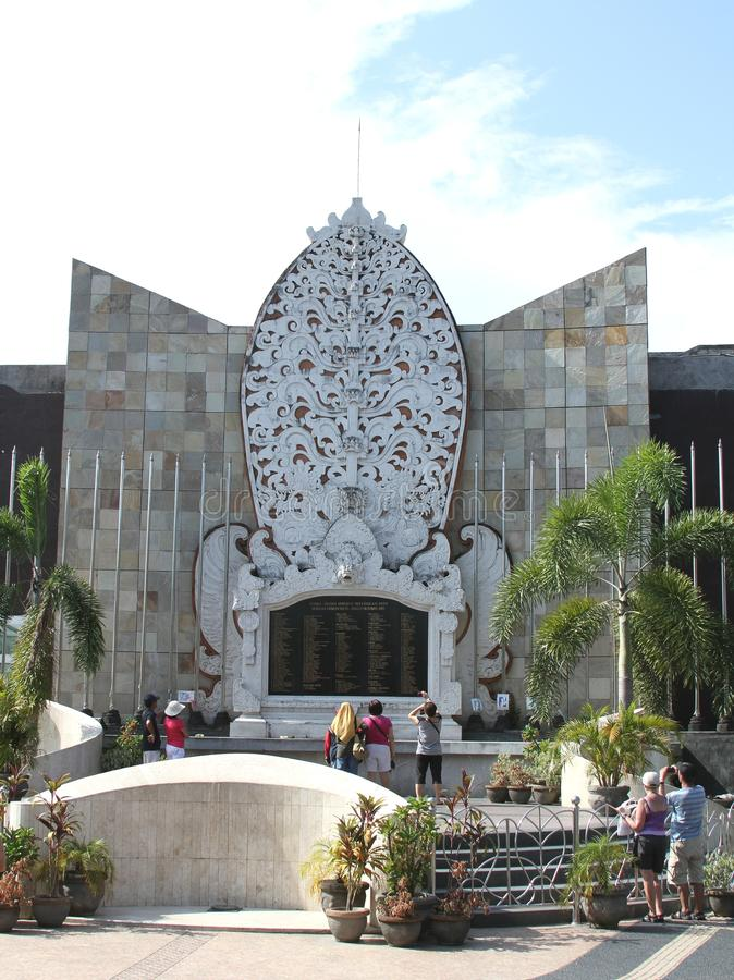 Bali-bombardierendenkmal, Bali Indonesien stockfotografie