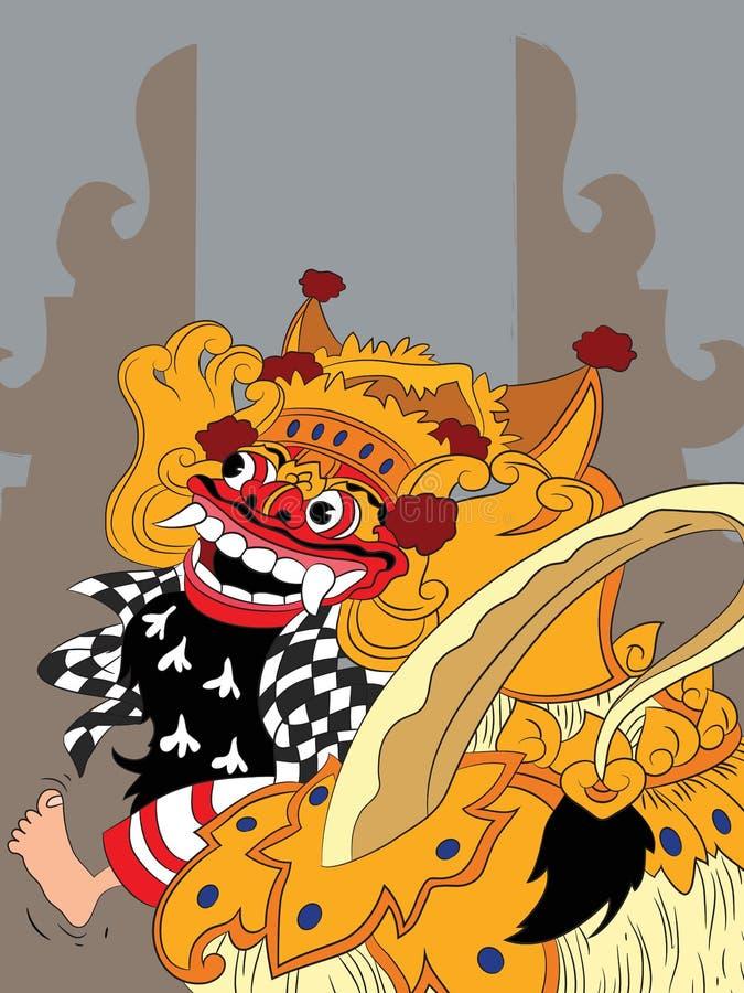 bali royalty free illustration