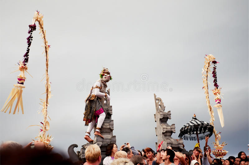Download BALI - DECEMBER 30: Traditional Balinese Kecak Dance At Uluwatu Editorial Photography - Image: 30269132