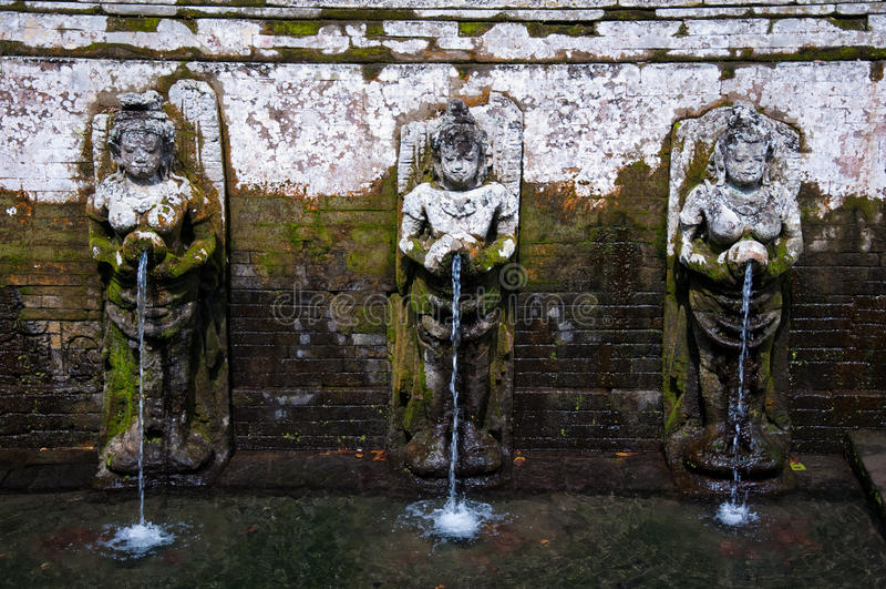 Bali Fountain Royalty Free Stock Photography