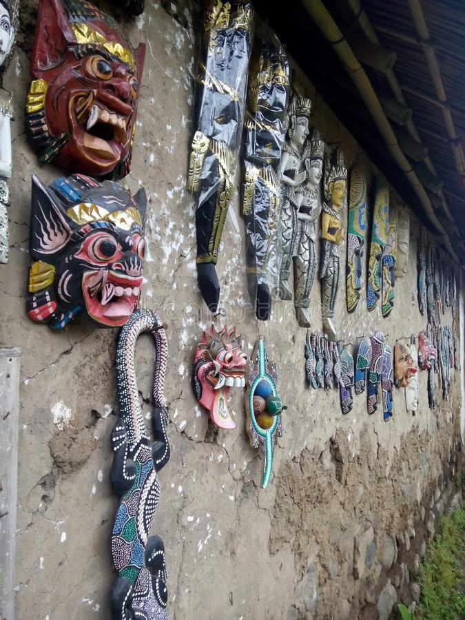 Bali-Handwerk stockfotografie