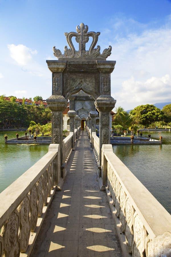Bali, Indonesia, baños de natación imperiales foto de archivo libre de regalías