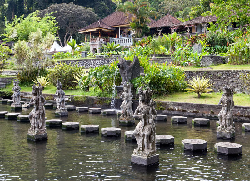 Bali, Indonesia, Imperial swimming baths royalty free stock images