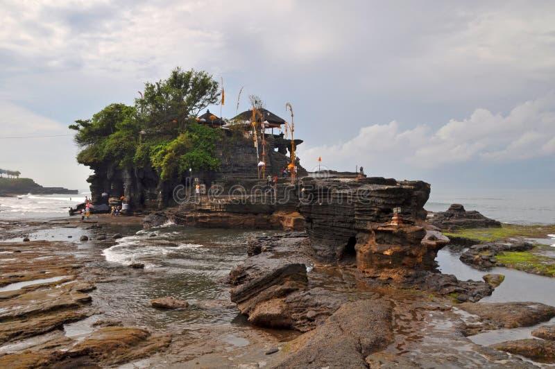 bali indonesia mycket tanahtempel arkivfoton