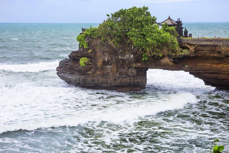 Bali Indonesien, Pura Tanah Lot Temple royaltyfri bild