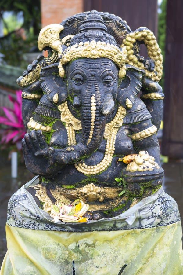 Bali, Indonesien, Skulptur Ganesha-Gott lizenzfreies stockfoto