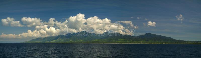 Bali, Indonezja krajobraz od Na morzu obraz royalty free