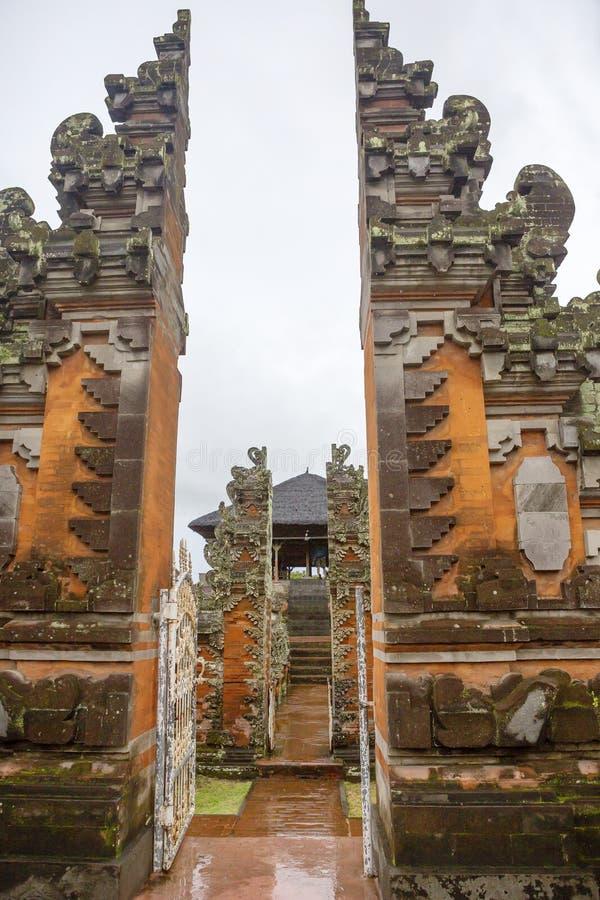 Bali, Indonezja, Ubud Muzealny kompleks Kertha Gosa zdjęcia stock