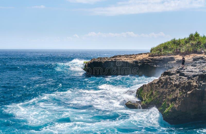 Bali Island Vacation Paradise Travel Lembongan Island Indonesia stock photography