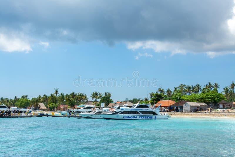 Bali Island Vacation Paradise Travel Lembongan Island Indonesia royalty free stock image