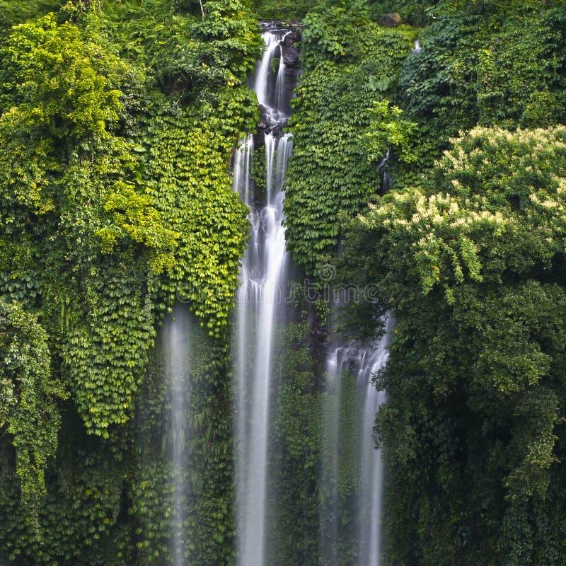 Bali island water falls-2 stock photos