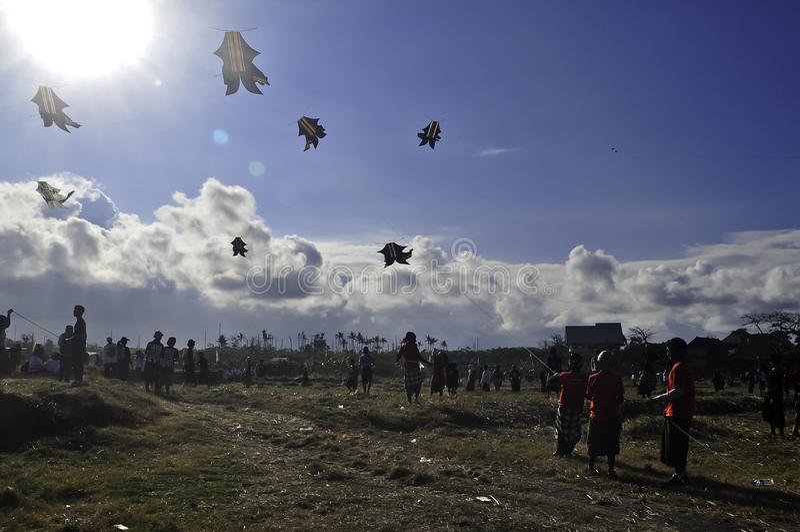 Bali Kite Festival Editorial Photography