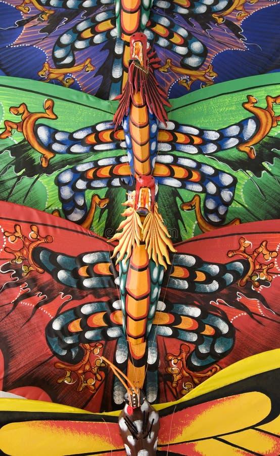 Bali kites 2 royalty free stock photos