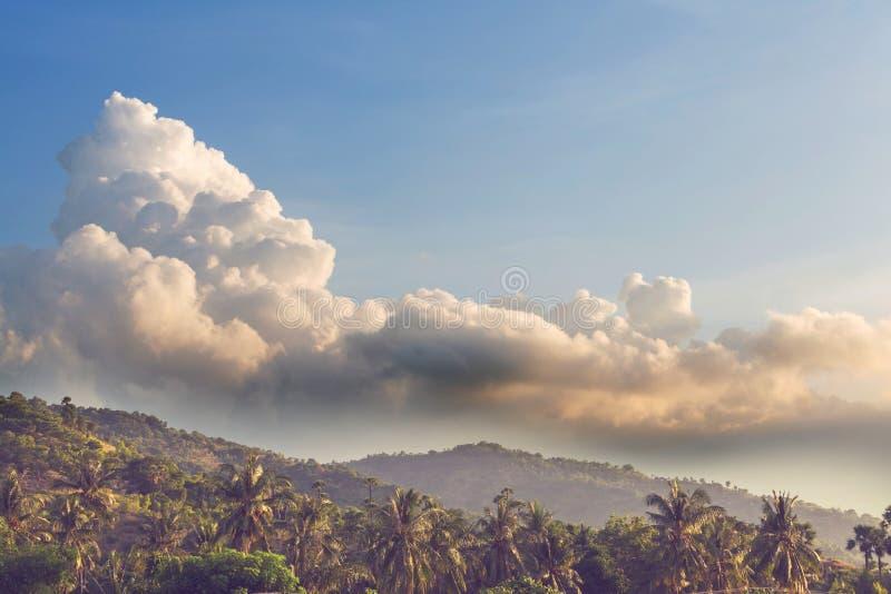Bali landscapes stock image
