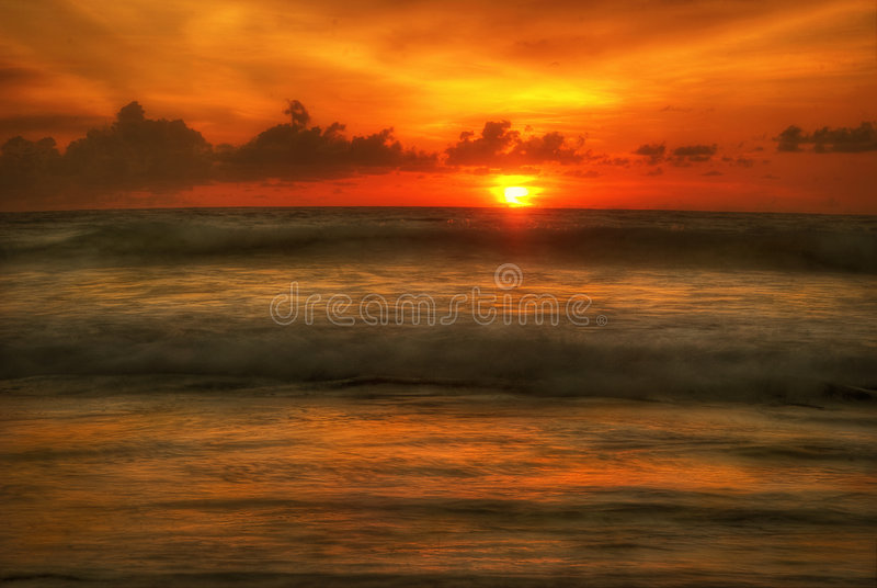 bali lawy słońca obraz royalty free