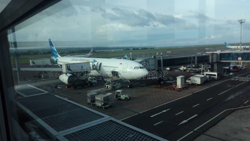 Bali lotnisko zdjęcia stock