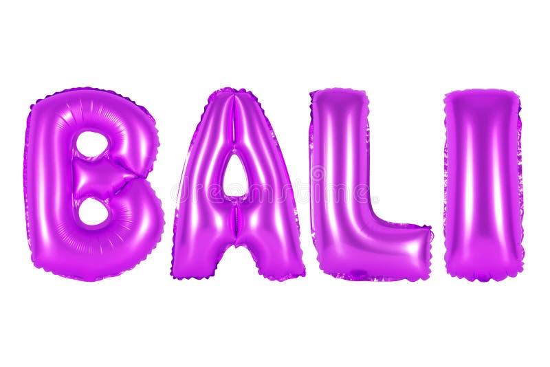 Bali, purpura kolor zdjęcia stock