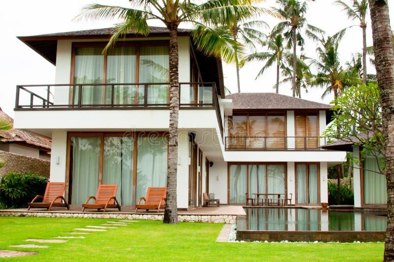 Bali Resort Villa stock photos