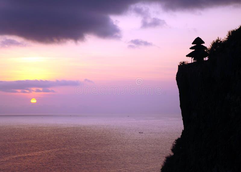 Bali scene stock photo