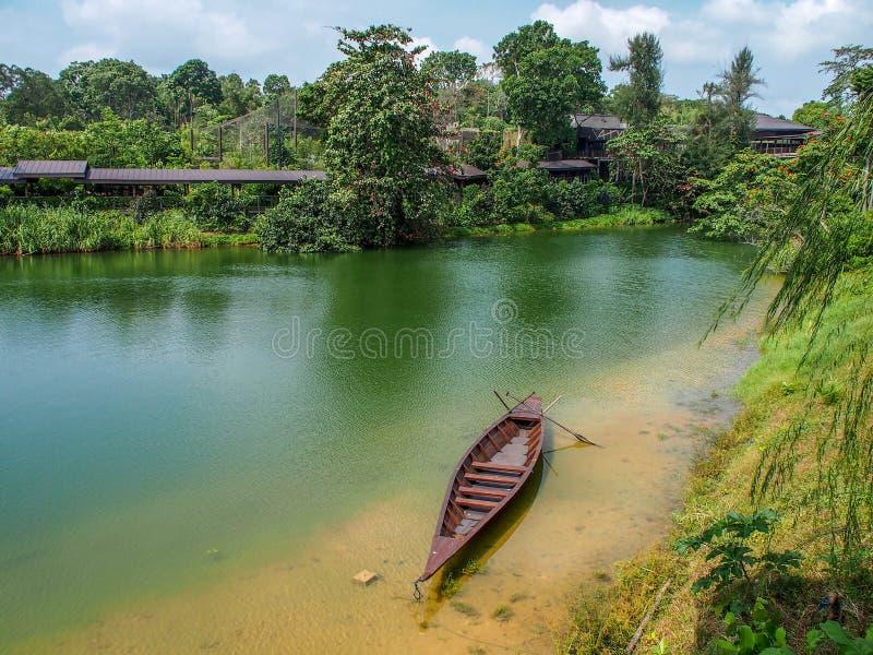 Bali siktsflod arkivbild