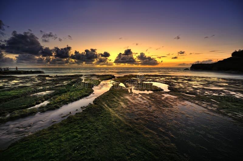 Bali - sort de Tanah photo stock