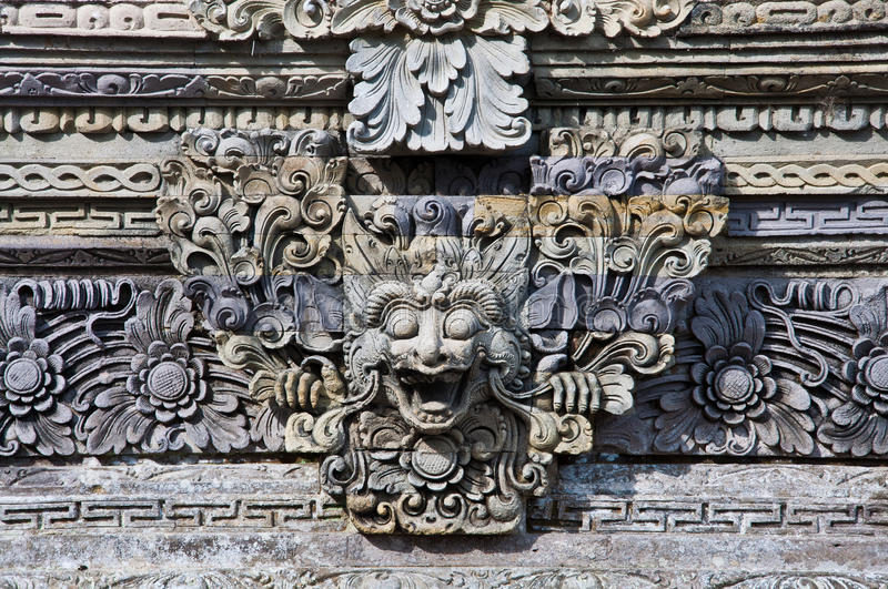 Download Bali stone sculpture stock photo. Image of asia, asian - 27133816