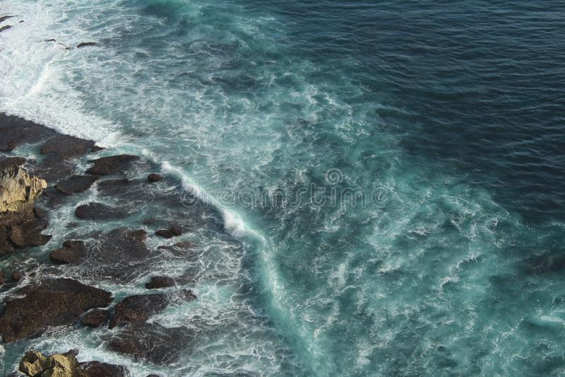 Bali strandplats arkivfoton