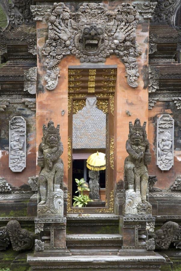 bali tempel royaltyfria foton