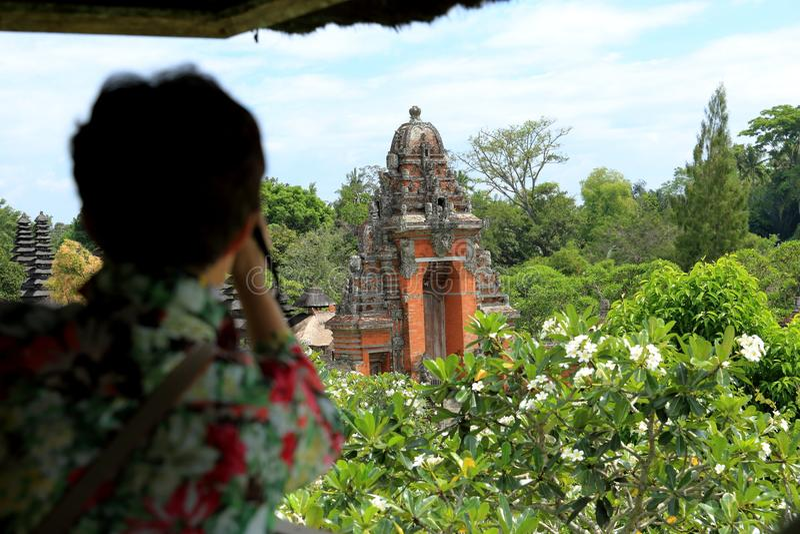 Bali: Templo de Taman Ayun (Pura Taman Ayun) imagem de stock royalty free