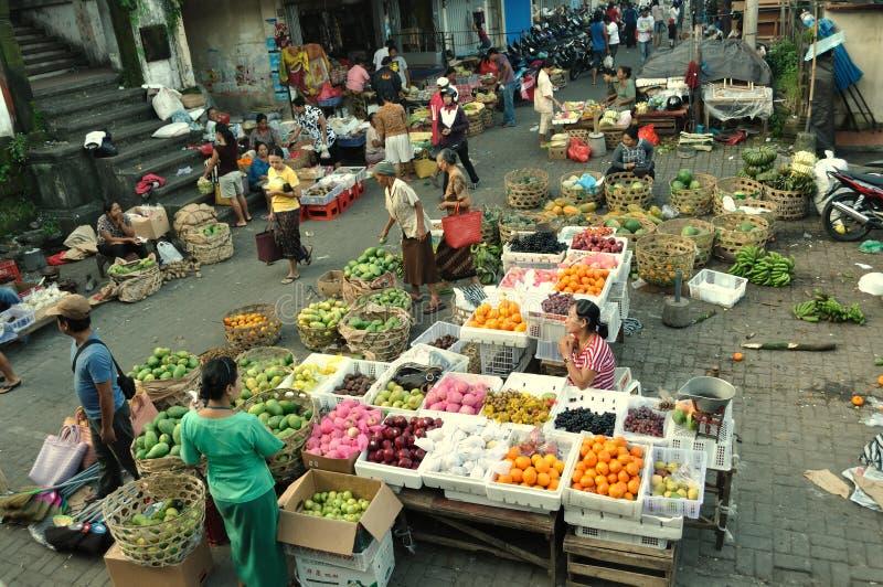 Bali Ubud Market stock photography