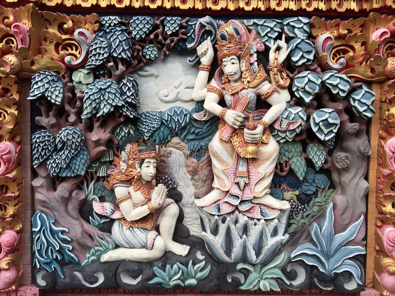 Bali ulicy sztuka obrazy stock